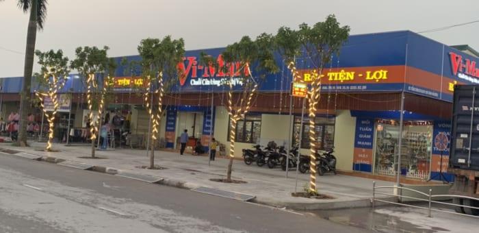 (Hải Dương) Gấp rút chuẩn bị khai trương Siêu thị Vi-Mart (R) Lai Vu, H.Kim Thành