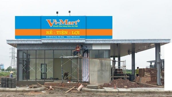 (Bắc Giang) Gấp rút chuẩn bị khai trương Siêu thị Vi-Mart+ Vân Trung tại KCN Vân Trung, H.Việt Yên