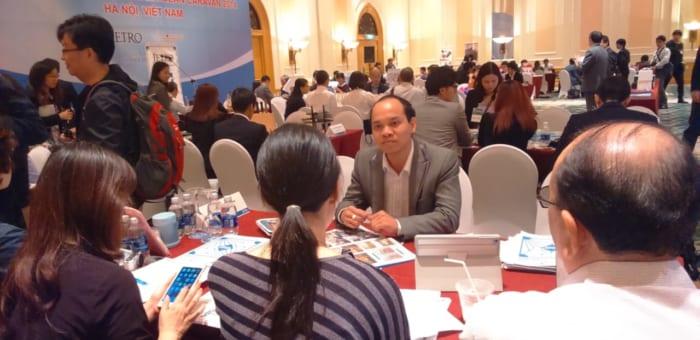 Lãnh đạo Vi-Mart tham dự hội nghị ASEAN CARAVAN 2015 và giao lưu với các DN Nhật Bản