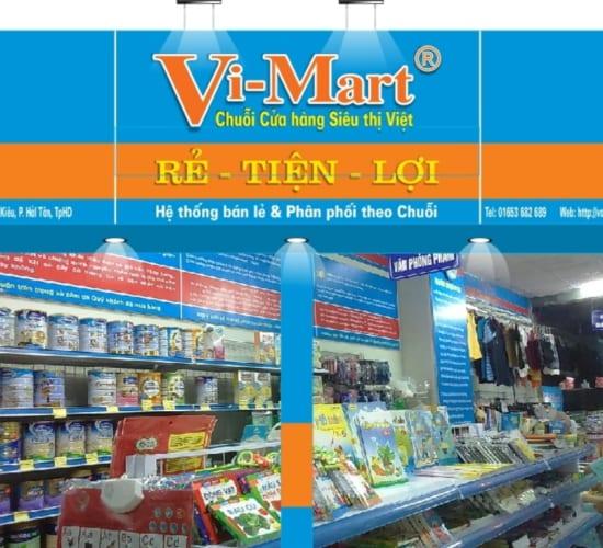 Hướng dẫn thiết kế biển hiệu Vi-Mart