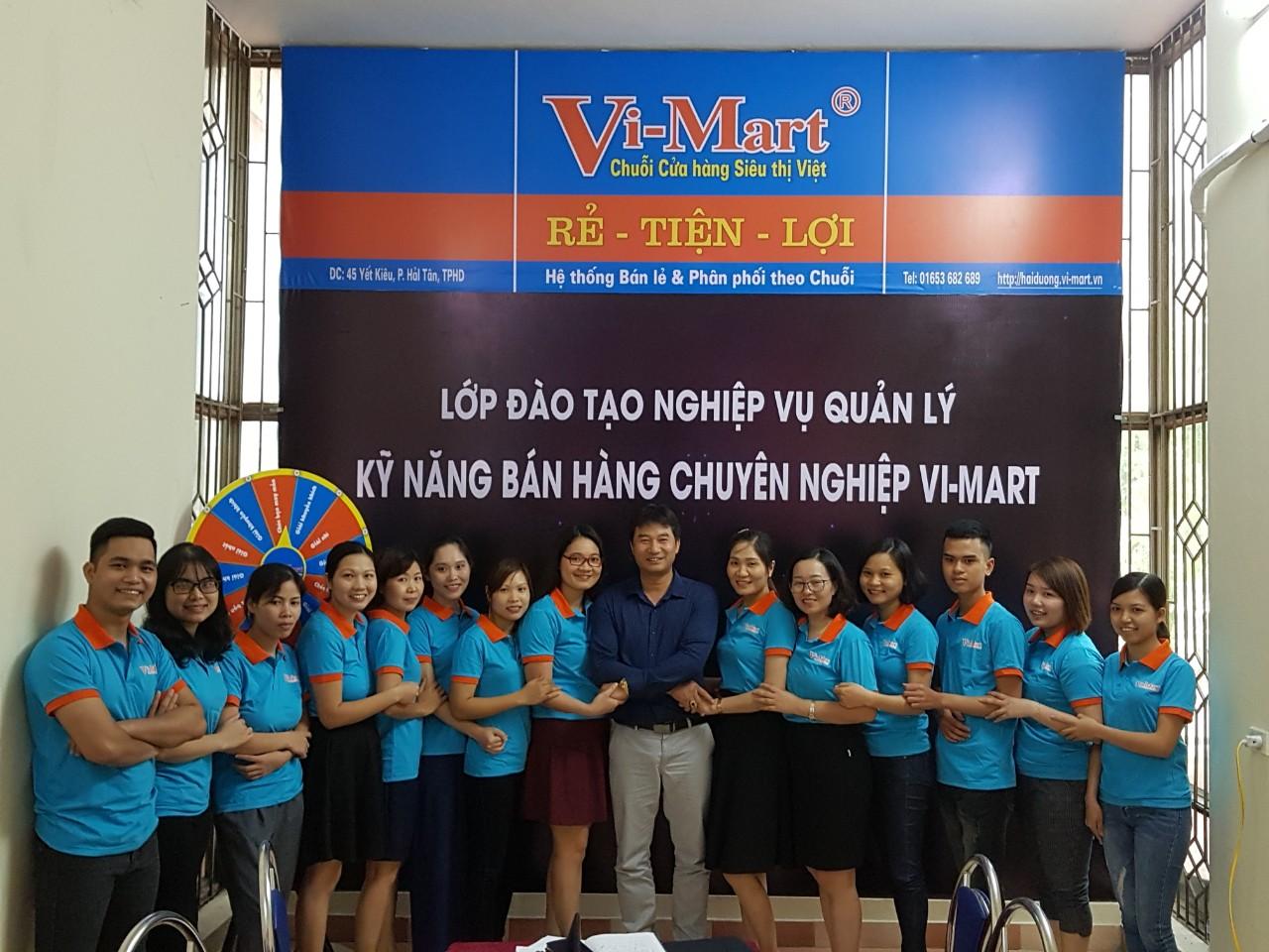 Khóa đào tạo nghiệp vụ Vi-Mart